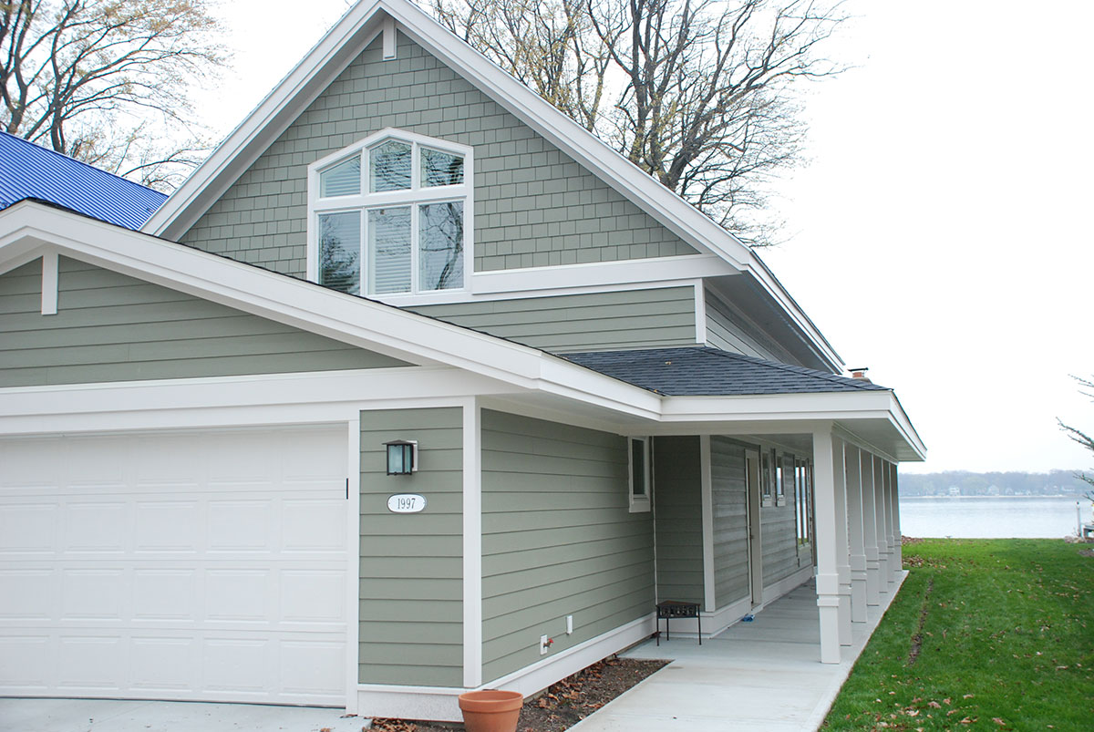 Exterior finish holland mi west michigan design build for Exterior finishes for homes