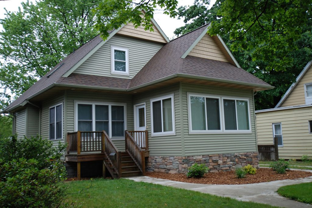 beautiful home exterior as part of a home remodel