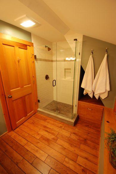 Rustic Bathroom Remodel - Saugatuck, MI